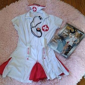 Sexy nurse Halloween costume medium/ large